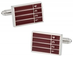 Track and Field Running Runner Cufflinks