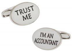 Trust Me Accountant Cufflinks