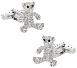 Women's Teddy Bear Cufflinks