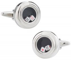 Working Dice Cufflinks