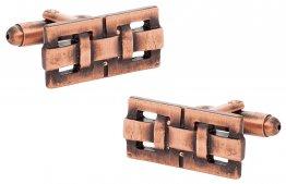Architectural Design in Oxidized Copper