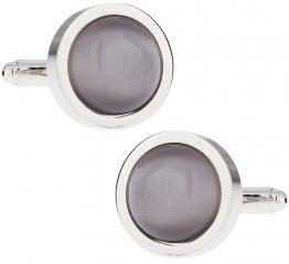 Bold Silver Cufflinks