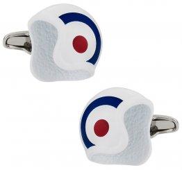 British Air Force Roundel Helmet Cufflinks