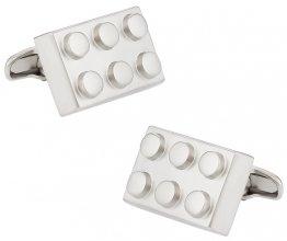 Building Block Silver Cufflinks