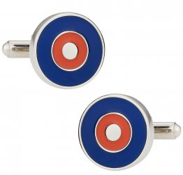 Bullseye Cuffs in Red & Blue