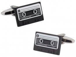 Cassette Tape Retro Cufflinks