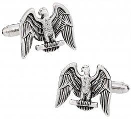 Eagle Cufflinks in Silver