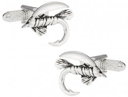 Fly Fishing Cufflinks for Fisherman