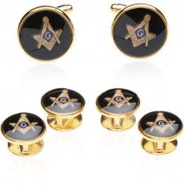 Masonic Gift Idea - Freemason Cufflinks & Studs