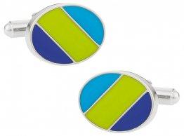 Green Blue Ovals