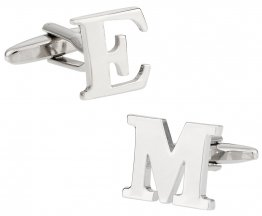 Letter Cufflinks - Your Choice