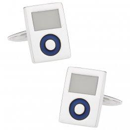 MP3 Player Music Cufflinks