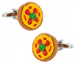 Pizza Cufflinks