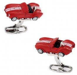 Red Race Car Cufflinks