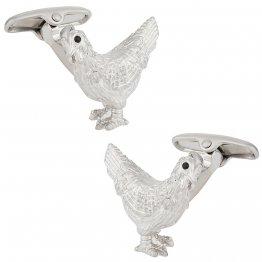 Rooster Cock Cufflinks