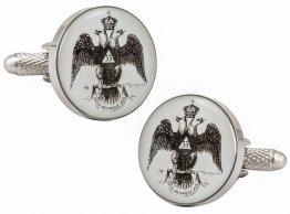 Scottish Rite Freemasonry 33 Degree Cufflinks