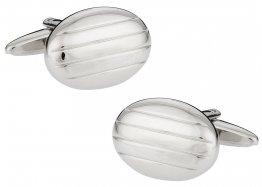 Silver Pillow Cufflinks