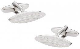 Silver Surfboard Cufflinks
