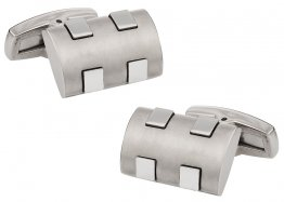 Titanium Bumps Cufflinks