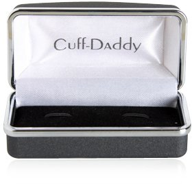 925 Sterling Silver Manatee Cufflinks
