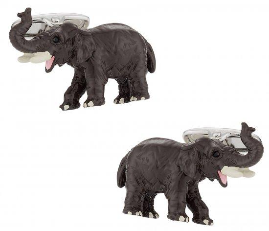 African Elephant Cufflinks