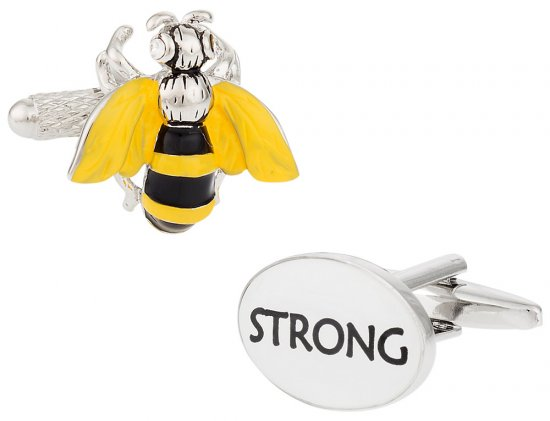 Bee Strong Cufflinks