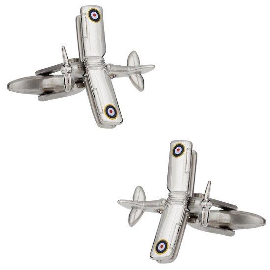 Biplane Cufflinks