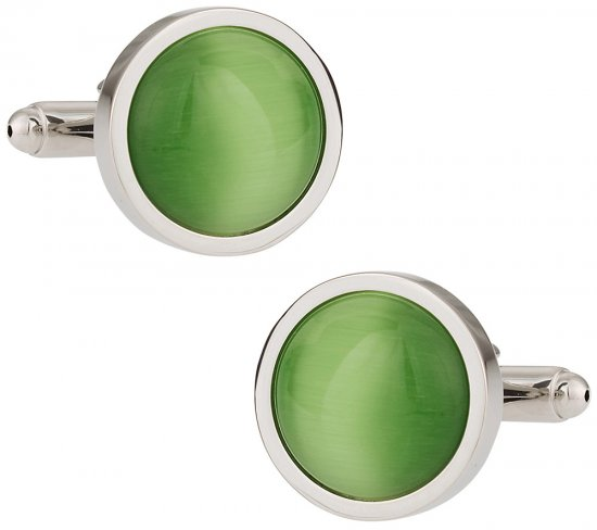 Bold Green Cufflinks
