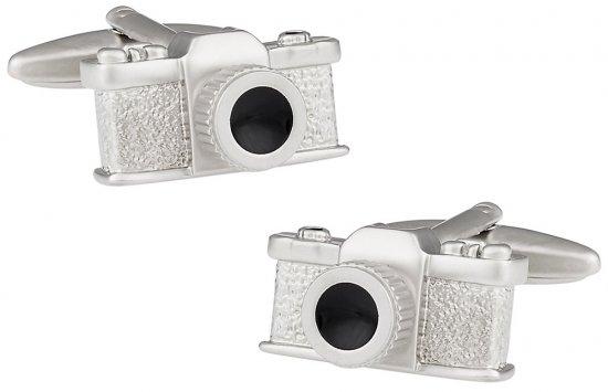 Camera Cufflinks - Photographer Gift Idea