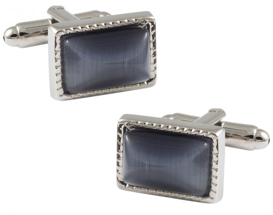 Charcoal Gray Cufflinks