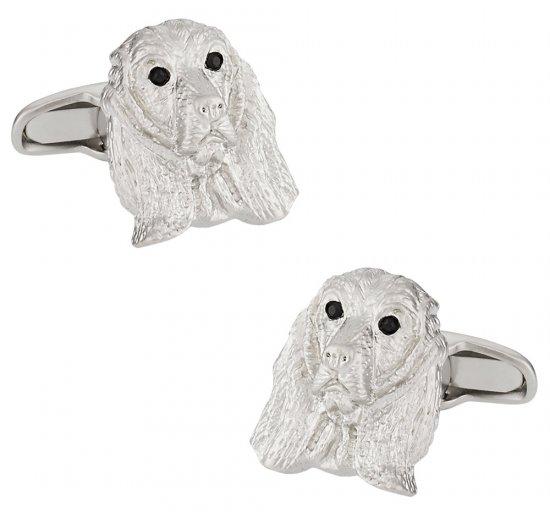 Cocker Spaniel Dog Cufflinks