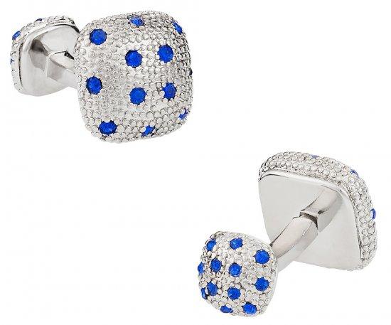 Crystal Pave Cufflinks