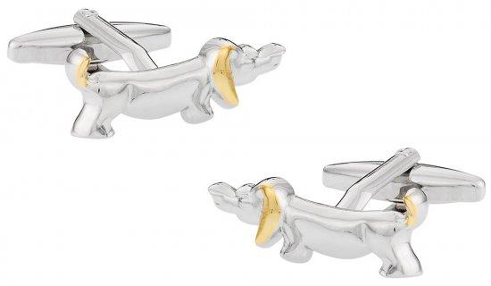 Dachshund Dog Cufflinks