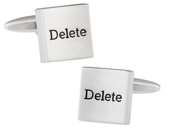 Delete it All Cufflinks