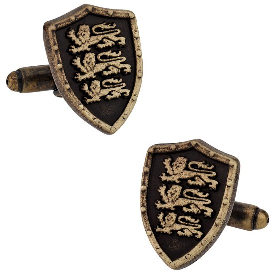 English Three Lions Cufflinks