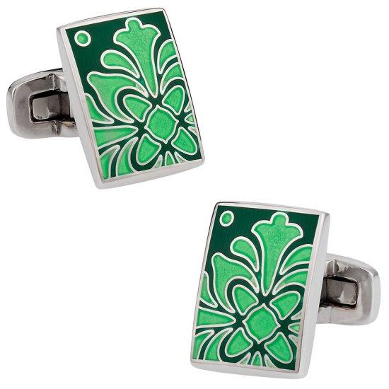 Foliage Green Cufflinks
