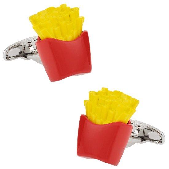 French Fries Cufflinks