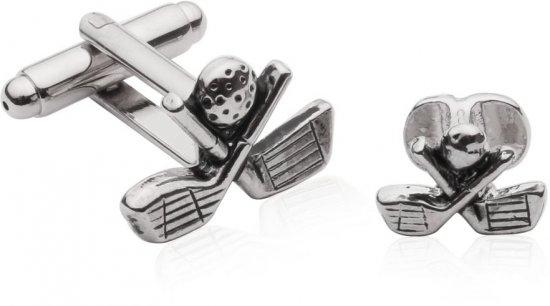 Golf Formal Set Cufflinks Studs