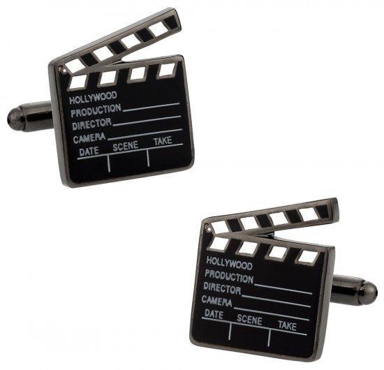 Hollywood Clapper Board Cufflinks
