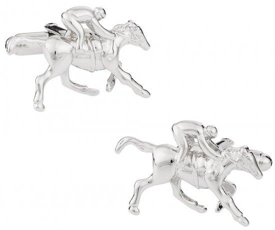 Horseracing Jockey Cufflinks