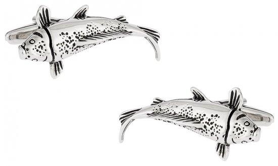 Japanese Koi Fish Cufflinks