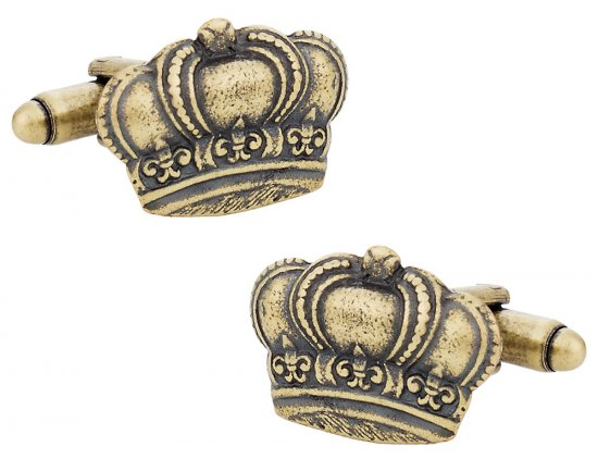 Kings Crown Cufflinks