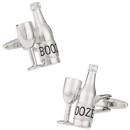 Liquor Cufflinks for your Drunk Friend
