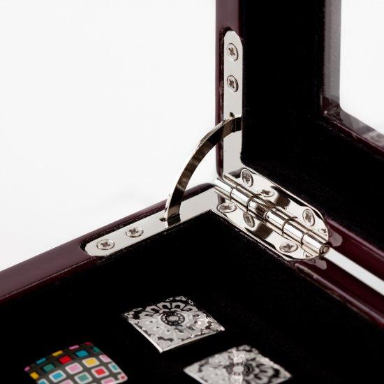 Mahogany Cufflinks Box (36 pair capacity)