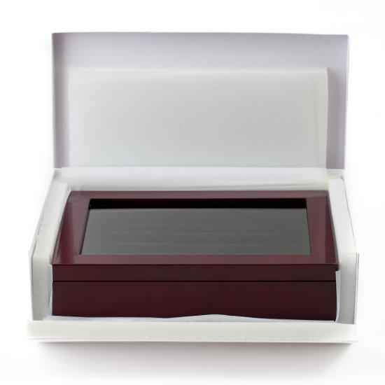 Mahogany Cufflinks Box (36 pair capacity)