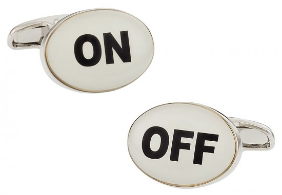 On Off Cufflinks