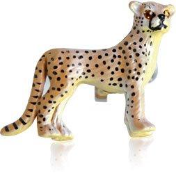 Painted Cheetah Cufflinks