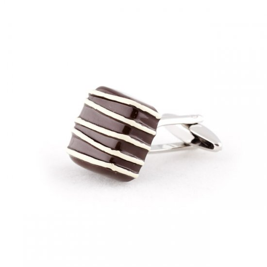 Piece of Chocolate Cufflinks
