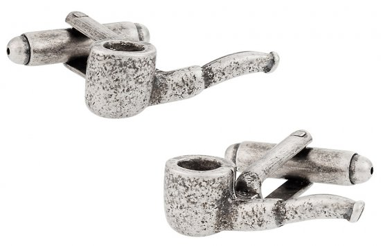 Pipe Cufflinks
