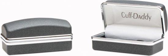 Racecar Cufflinks in Silver